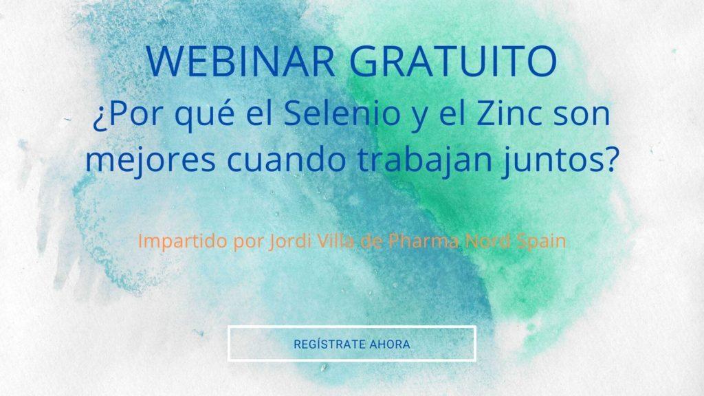 webina gratuito Selenio y Zinc